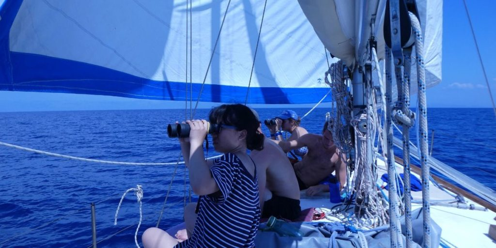 researchers on board